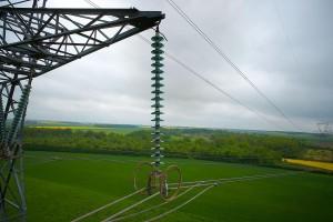photo et observation aérienne pour inspection d'un pylône RTE par drone