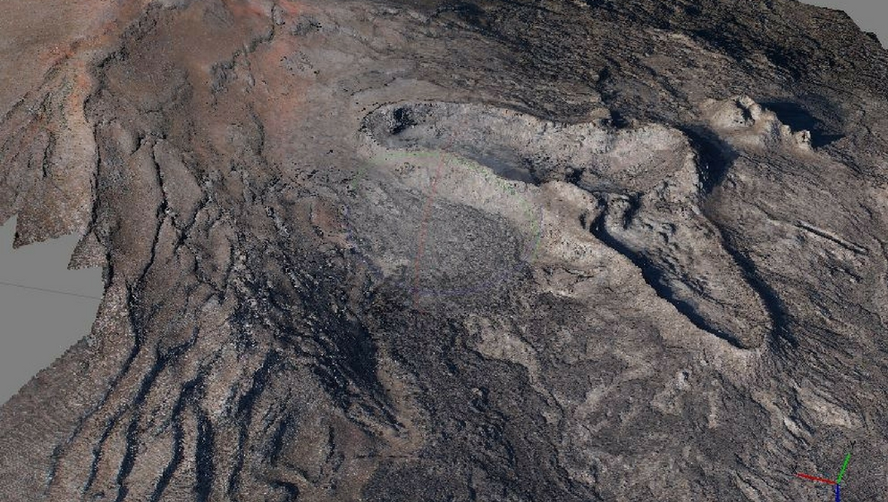 Volcan-drone-technivue-modelisation