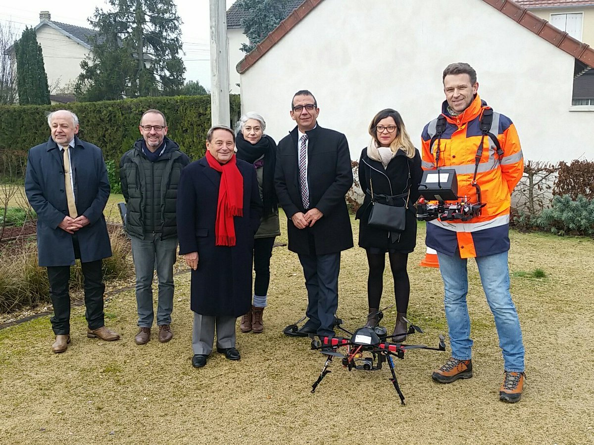 Technivue-Thermographie Drone-Grdf-Indre-Issoudun